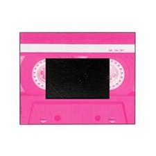 Pink Cassette Picture Frame