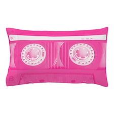 Pink Cassette Pillow Case