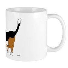 Sniffing Hunting Beagle Mug