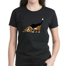 Sniffing Hunting Beagle Tee