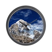 Pumori from Everest Base Camp Trek in N Wall Clock