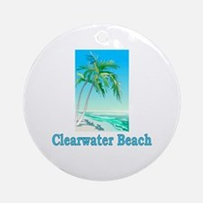 Clearwater Beach, Florida Ornament (Round)