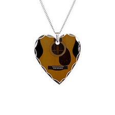 Acoustic Guitar Necklace