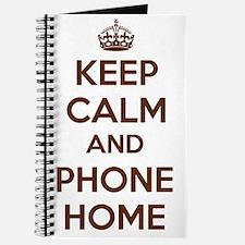 Keep Calm and Phone Home Journal