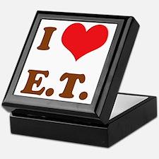 I Love E.T. Keepsake Box