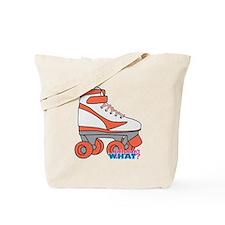 Roller Derby Skate Orange Tote Bag