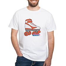 Roller Derby Skate Orange Shirt