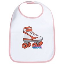 Roller Derby Skate Orange Bib