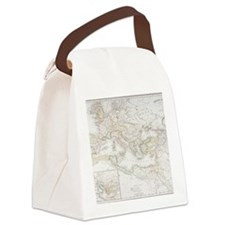 Roman Empire at the time of Augus Canvas Lunch Bag