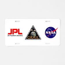 GRAIL Aluminum License Plate