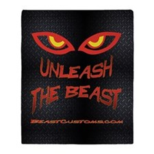 UnleashBlackDiamond Throw Blanket