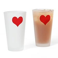 I Love E.T. Drinking Glass