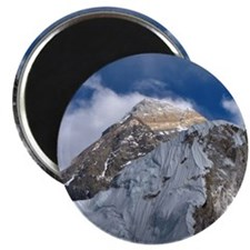 Mount Everest from part way up Kala Patar w Magnet