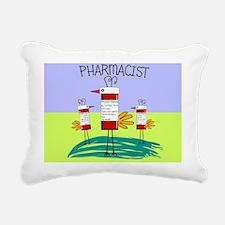 PHARMACIST BRID TOTE 2 Rectangular Canvas Pillow