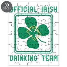 Official Irish drinking team Puzzle
