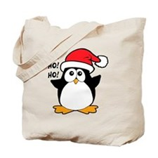 Cute Christmas Penguin Tote Bag