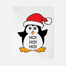 Cute Christmas Penguin Twin Duvet