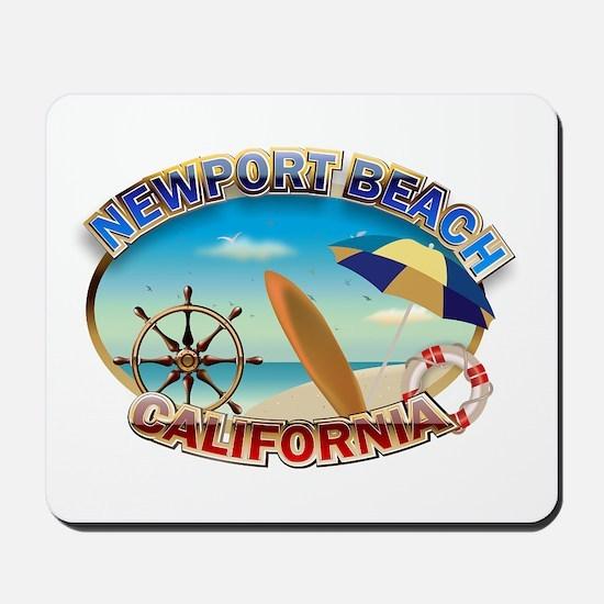 Newport Beach Mousepad