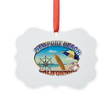 Newport Beach Ornament