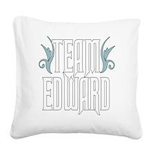 Team Edward Square Canvas Pillow