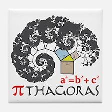 Pi thagoras Tile Coaster