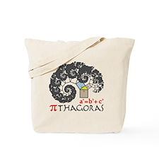 Pi thagoras Tote Bag