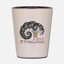 Pi thagoras Shot Glass