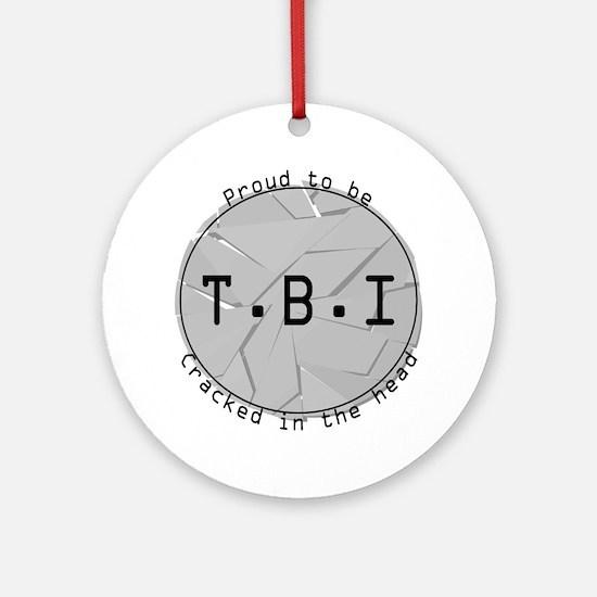 TBI Ornament (Round)