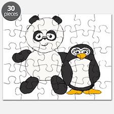 Panda and penguin Puzzle