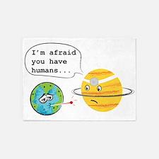 Humans... 5'x7'Area Rug