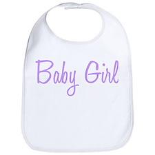 Baby Girl Bib