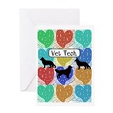 Vet tech Greeting Cards