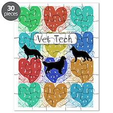 vet tech 2 hearts Puzzle