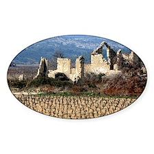 Vineyard close to Carcassonne, Fran Decal