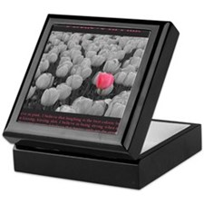 I Believe In Pink Keepsake Box