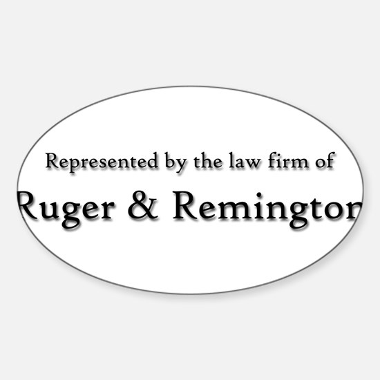 Law Firm2bumper copy Decal