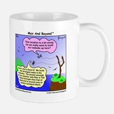 Windy Spider Website Cartoon Mug