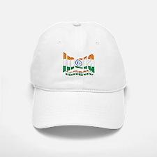 Indian flag sports fanatic Baseball Baseball Cap