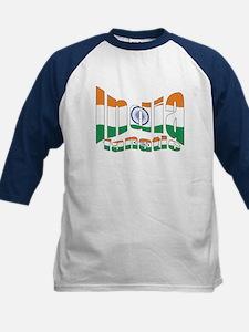Indian flag sports fanatic Tee