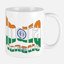 Indian flag sports fanatic Mug