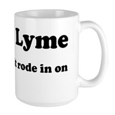 Screw Lyme Mug