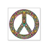 Psychedelic love Bumper Stickers