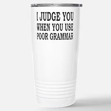 grammarrectangle Travel Mug