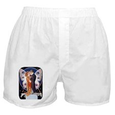 PwrBnk-Leyendecker Kissing Couple -Bf Boxer Shorts