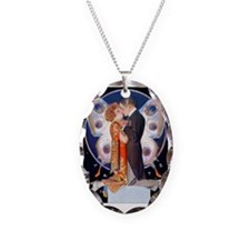PwrBnk-Leyendecker Kissing Cou Necklace