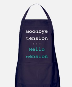 Goodbye tension Apron (dark)