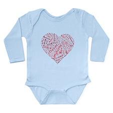 Bucksco Long Sleeve Infant Bodysuit