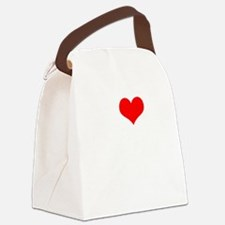 I Love Sixteen Candles Canvas Lunch Bag