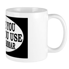 grammaroval Small Mugs