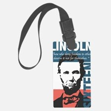Abraham Lincoln 16th President Luggage Tag
